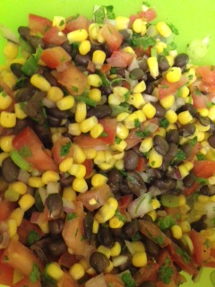 Southwestern Corn and Blackbean Salad